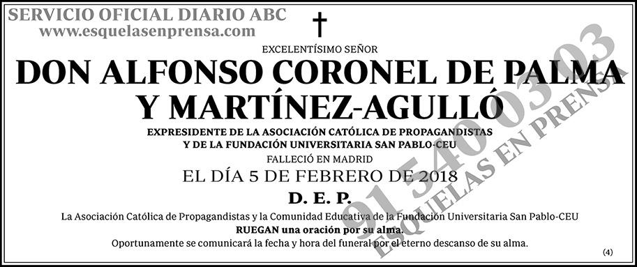 Alfonso Coronel de Palma Martínez Agulló